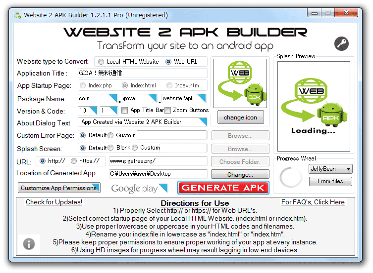 Website 2 APK Builder Pro