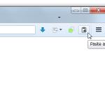 クリップボードにコピーした複数のURL を、まとめて一気に開けるようにするFirefox アドオン「Multiple Paste and Go Button」