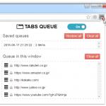 """開けるタブの個数を制限し、指定数以上のタブが自動で """" 表示待ちリスト """" に送られるようにするChrome 拡張「Tabs limiter with queue」"""