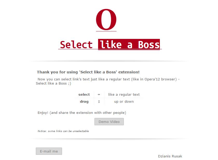 「Select like a Boss」のチュートリアル