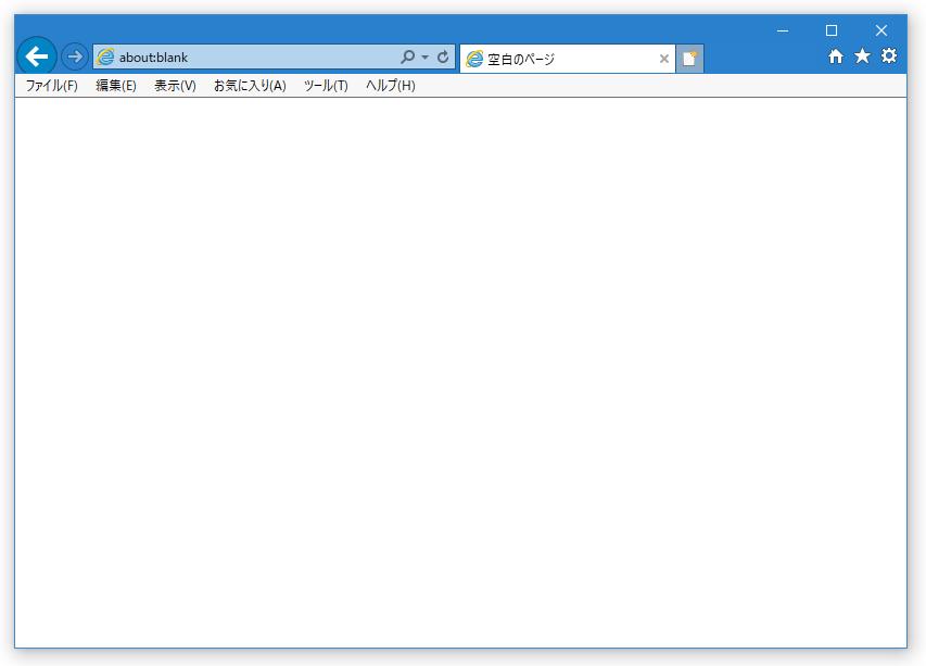 「Microsoft Edge で開く」ボタンと、スマイルアイコンを削除した