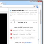 Google Chrome 上で、音量をタブごとに調整できるようにする拡張機能「Volume Master」
