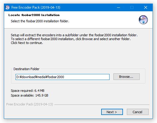 Locate foobar2000 Installation