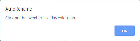 「個別ツイートを開いてください」というエラーが表示される