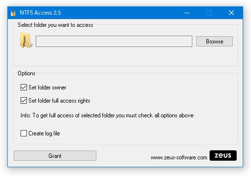 NTFS Access