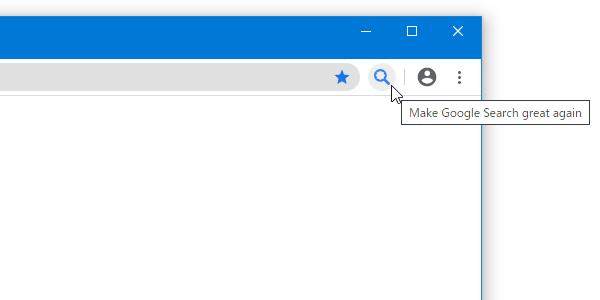 ツールバー上に、アイコンが表示される
