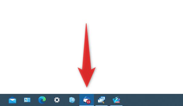 Windows Taskbar Unread Badge